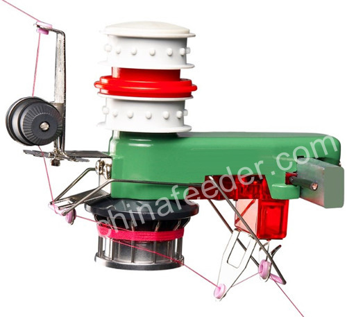 Yarn Feeder with Spring Tension Set with Cover